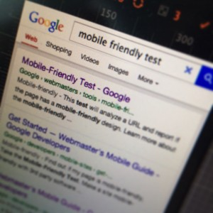 Google Mobile-Friendly Test search results